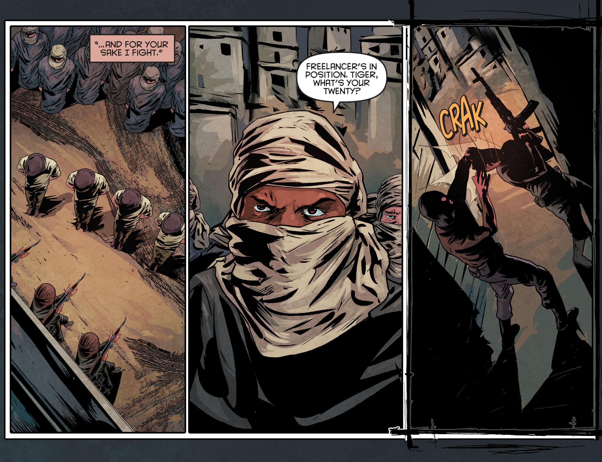 Read online Arrow: Season 2.5 [I] comic -  Issue #11 - 13