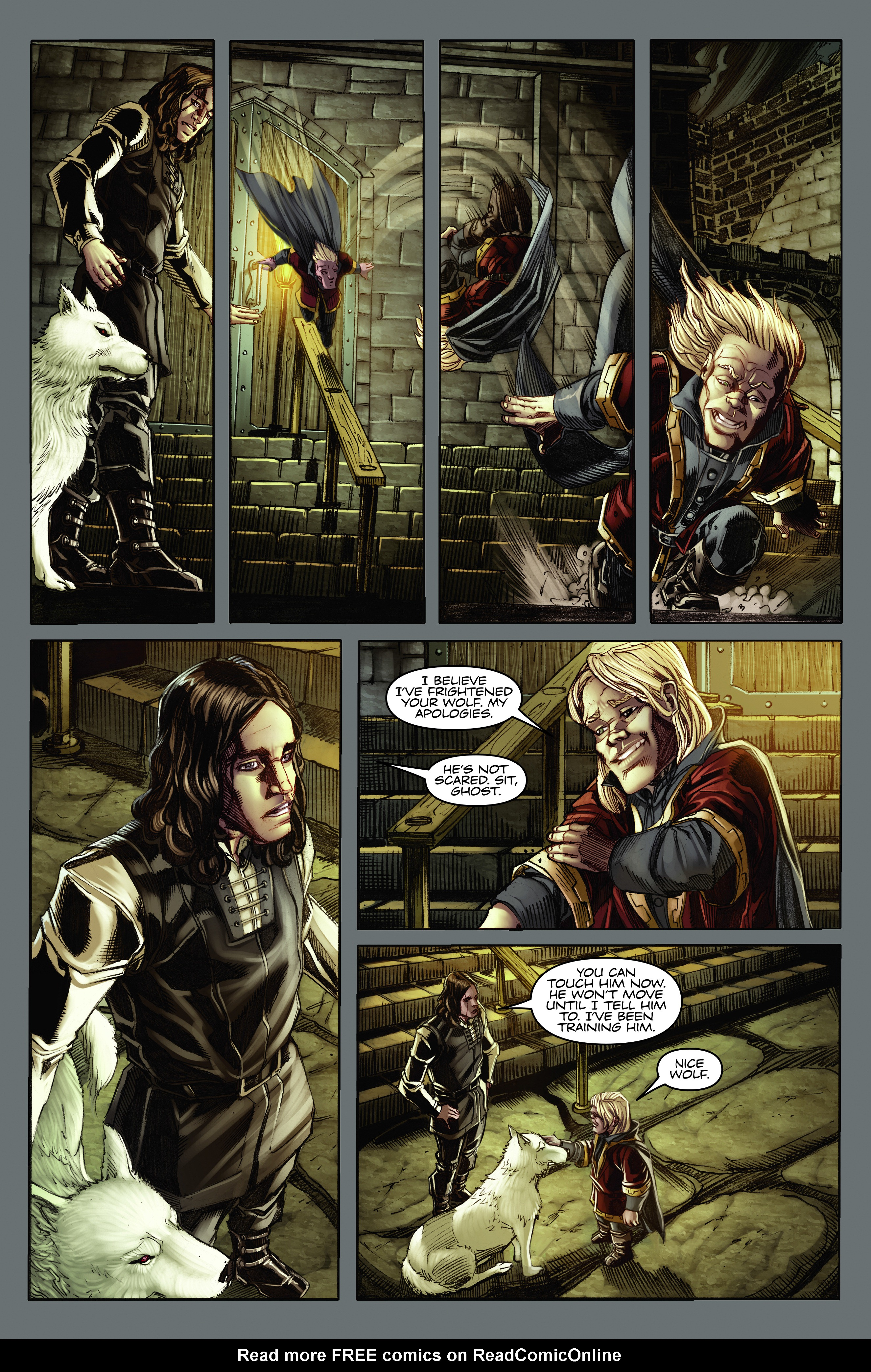 Read online A Game Of Thrones comic -  Issue #2 - 18