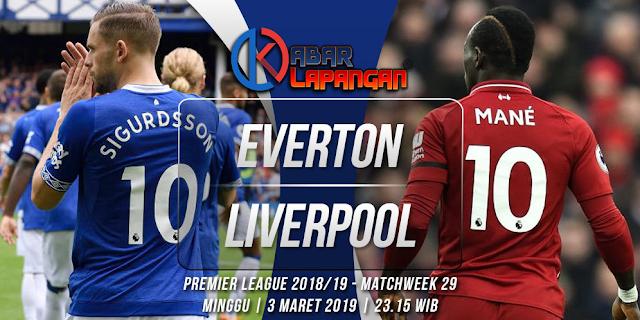 Prediksi Bola Everton vs Liverpool Liga Inggris