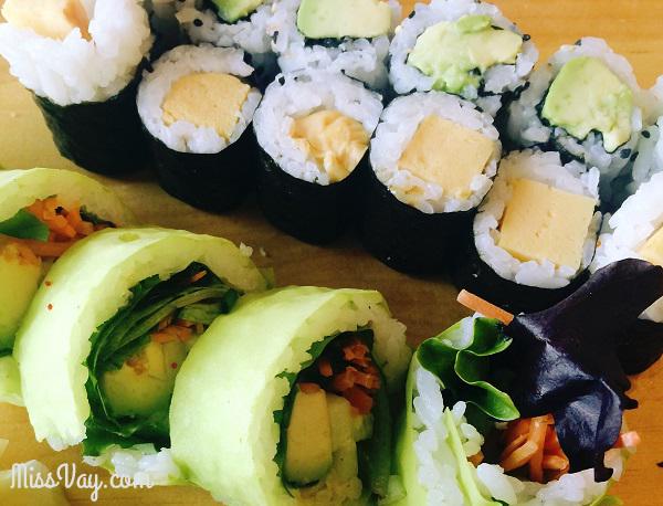 Sushis végératiens Sushi Shop Yuzu restaurants