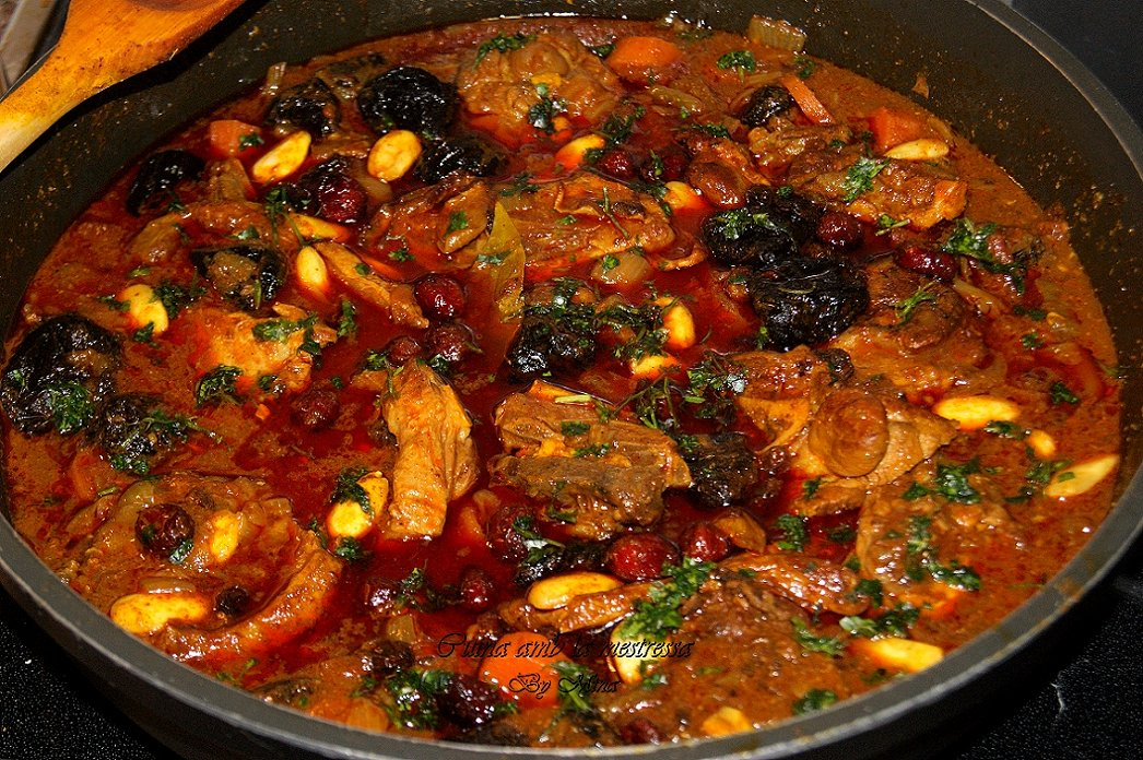 Cuina amb la mestressa caldereta de cordero al estilo - Cordero estilo marroqui ...