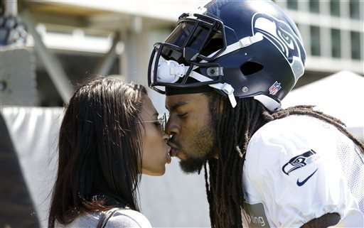 Sherman And His Wife Ashely Moss