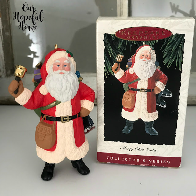 Merry Olde Santa Hallmark 1993 ornament