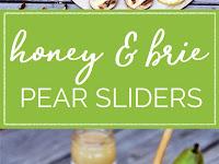 Honey & Brie Pear Sliders
