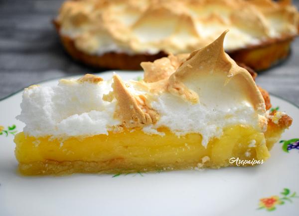 Tarta de Limón con Merengue (Lemon Meringue Tart)