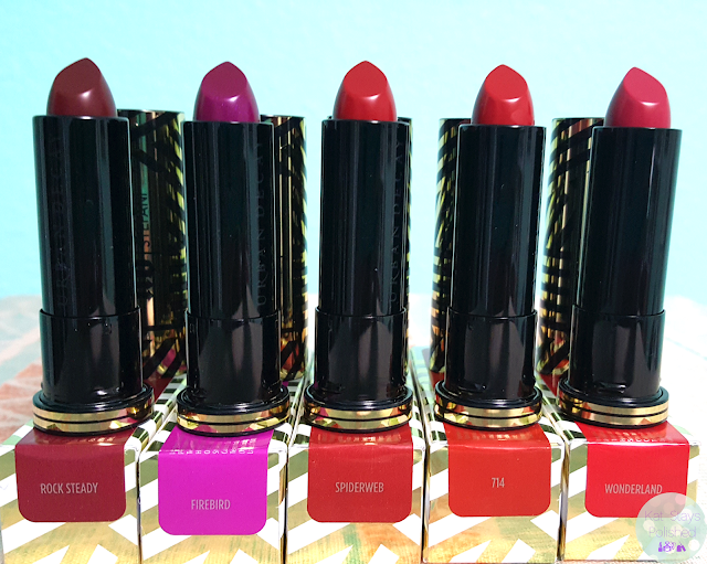 Urban Decay x Gwen Stefani Lipsticks | Kat Stays Polished