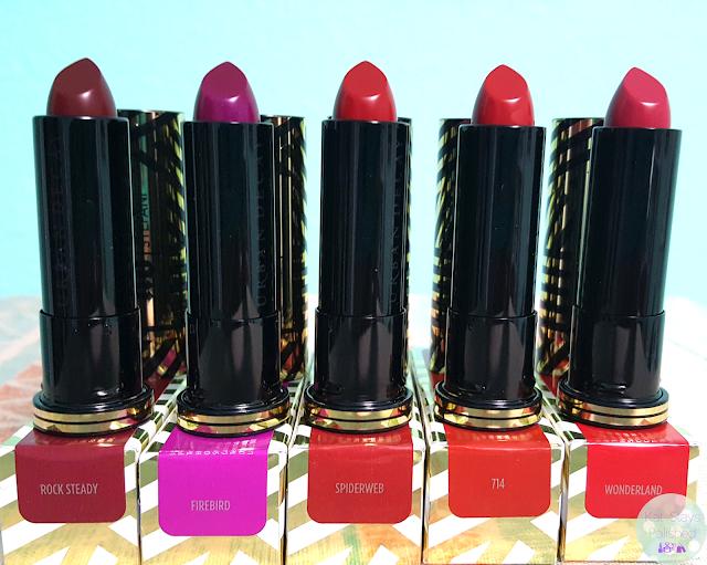 Urban Decay x Gwen Stefani Lipsticks | Kat Stays Polished