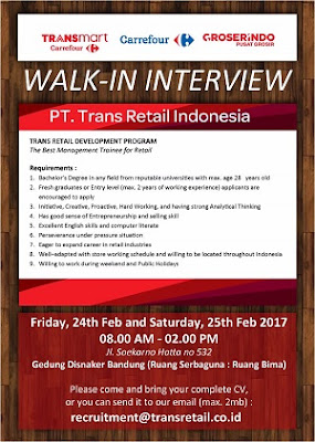 PT. Trans Retail Indonesia