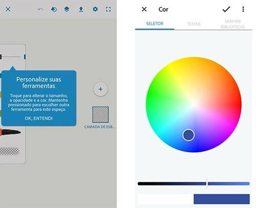 Adobe Photoshop Sketch: app para desenhos personalizados