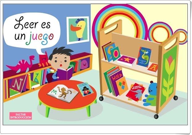 """""""Leer es un juego 1"""" (Cuentos interactivos de animación a la lectura)"""