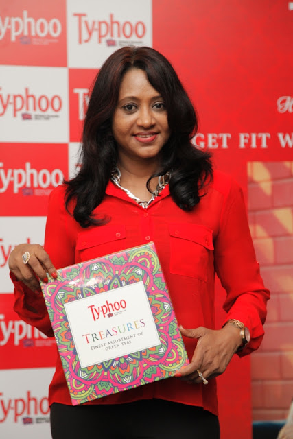 Wanitha Ashok at the Typhoo Wellness session held in Bangalore