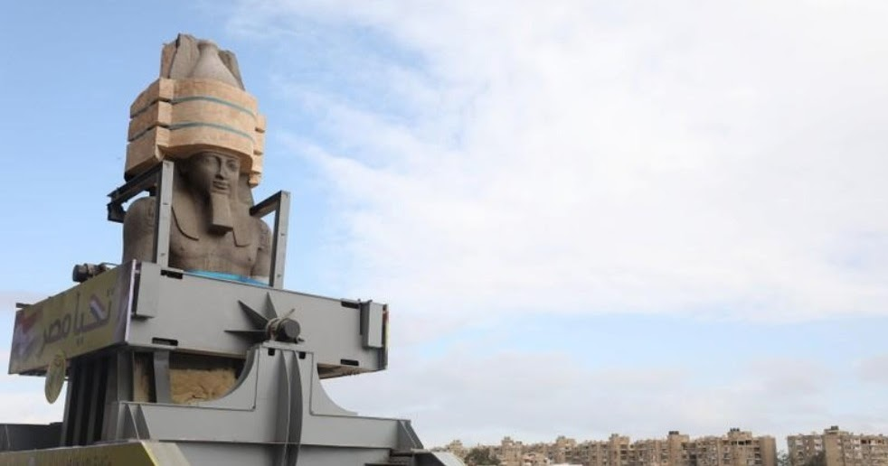 Colossus of Ramses II moved to Grand Egyptian Museum