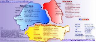Cum ar arăta economiile celor trei mari provincii istorice dacă ar fi independente