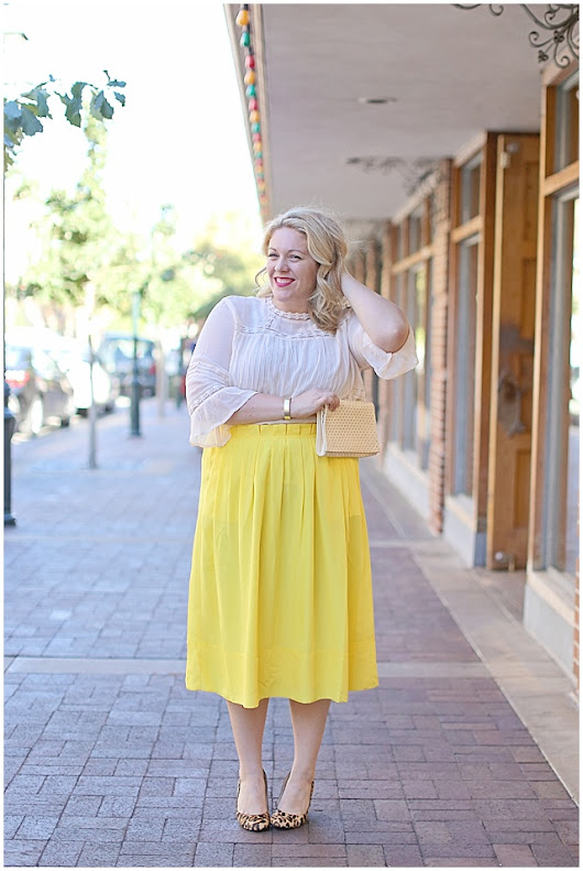 Favorite Wears: Sunny Yellow