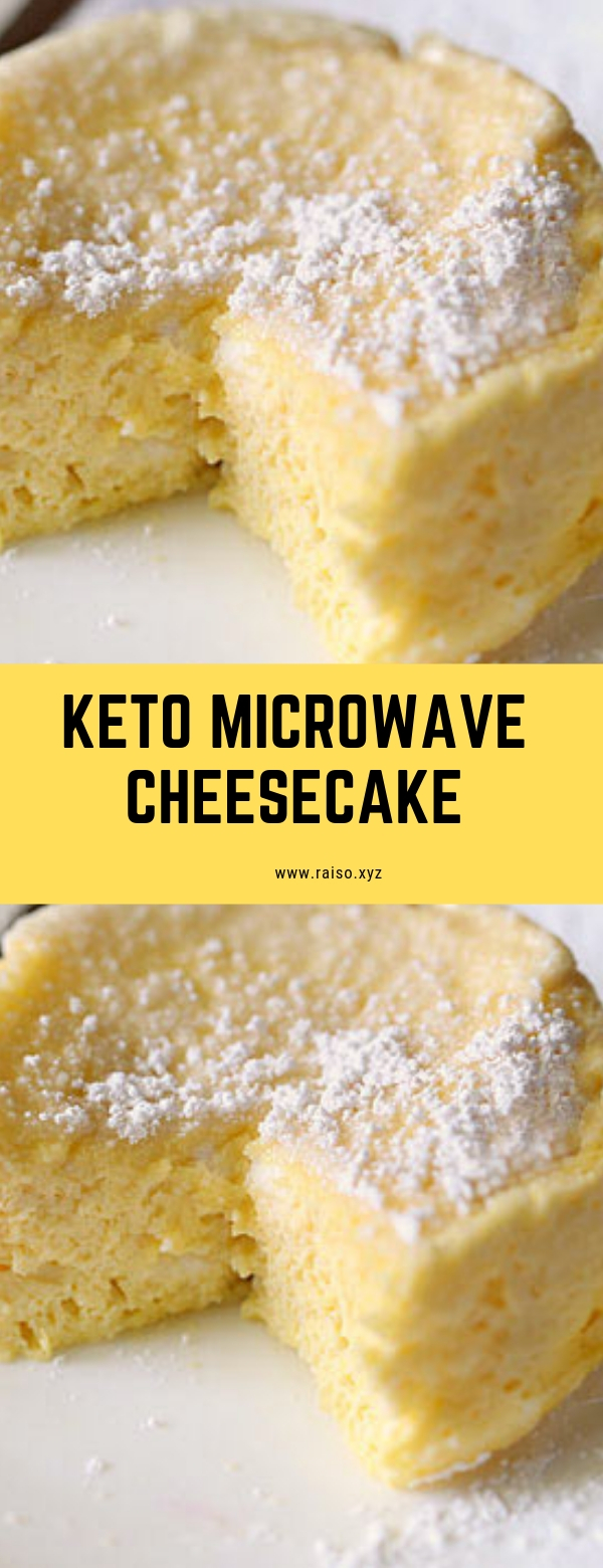 Keto Microwave Cheesecake #cheesecake #dessert