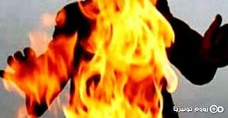 القيروان: شقيقان يضرمان النار في جسد شخص آخر ويتسبّبان في وفاته