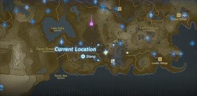 Farosh Dragon Location, Breath of the Wild