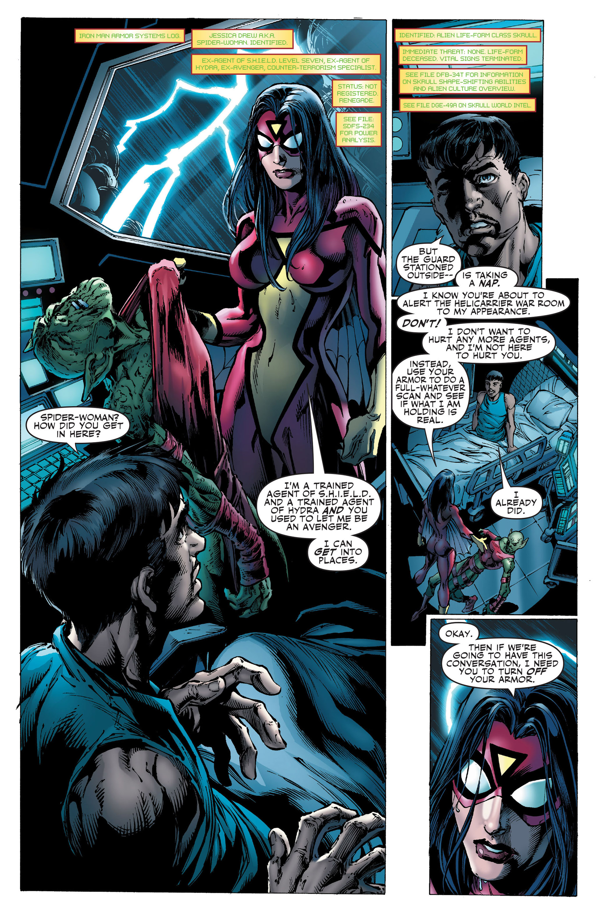 Read online Secret Invasion: The Infiltration comic -  Issue #1 - 3