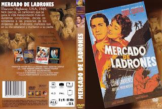 Carátula dvd: Mercado de ladrones (1949)