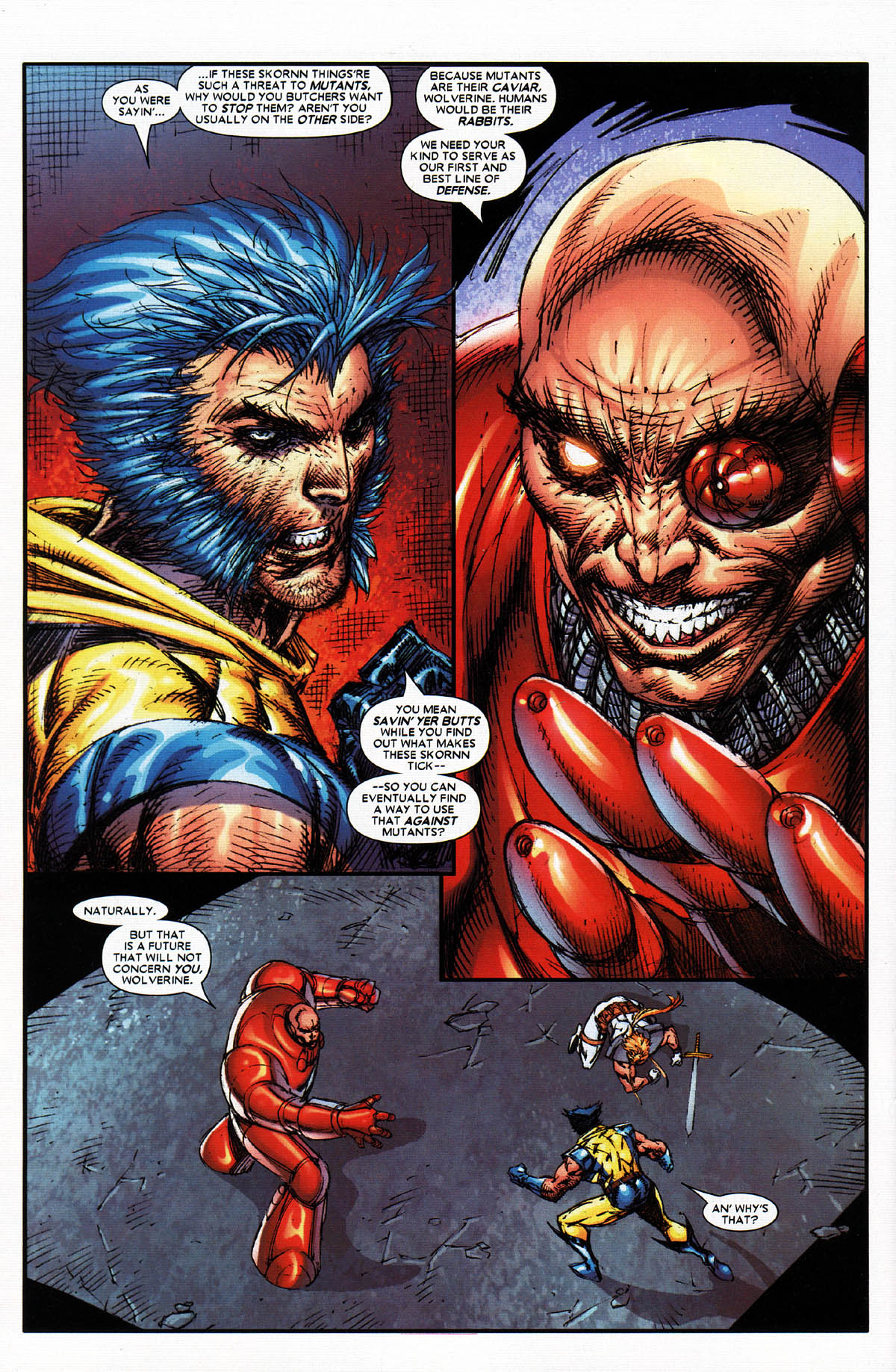Read online X-Force (2004) comic -  Issue #4 - 24