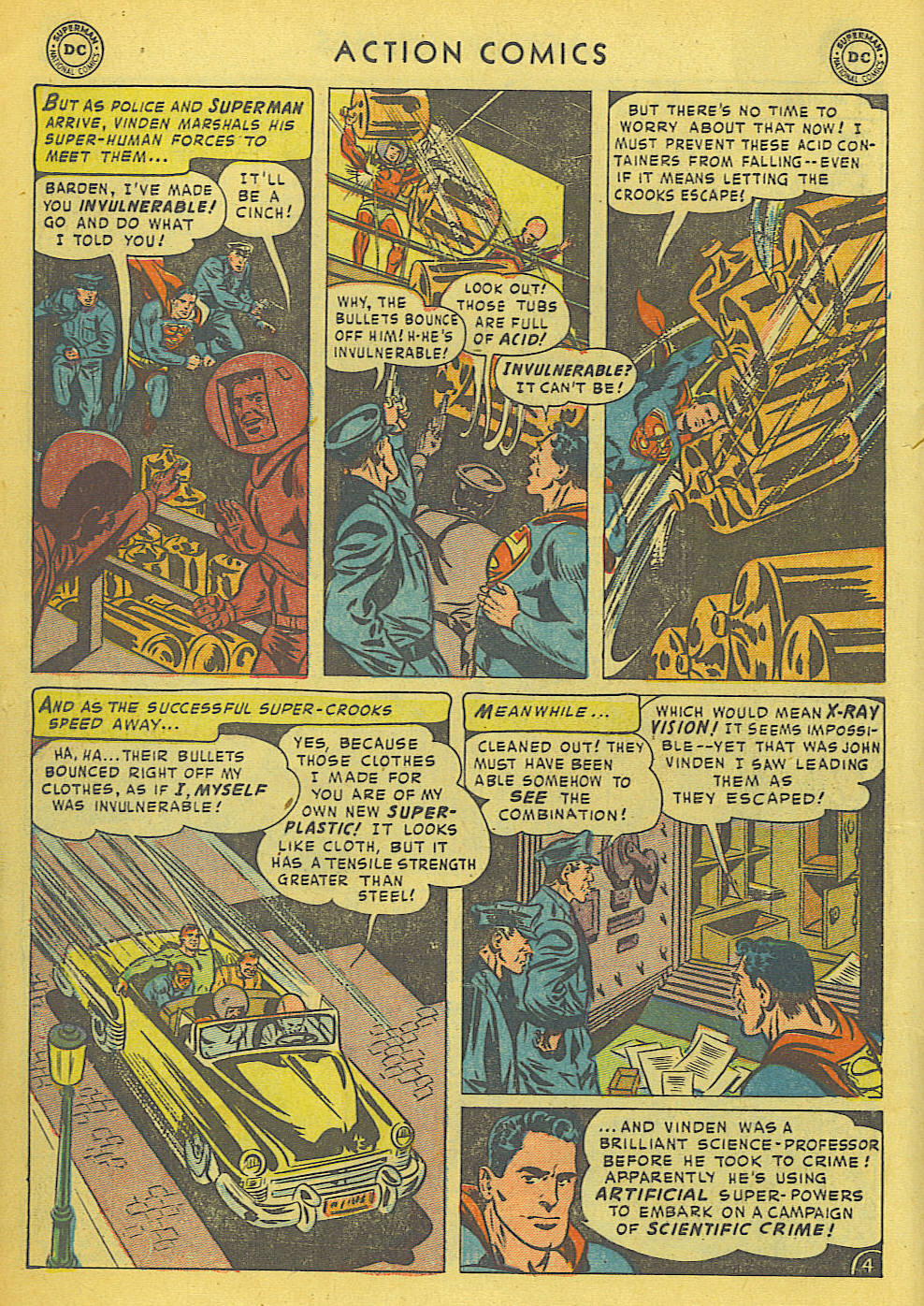 Read online Action Comics (1938) comic -  Issue #175 - 6