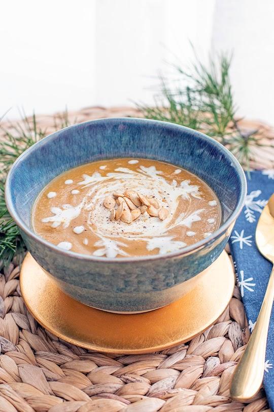 recette Soupe de châtaigne, panais et champignons