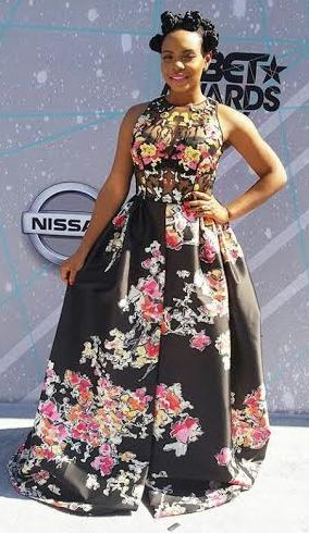 Yemi Alade's beautiful look to the 2016 BET Awards in LA (photos)