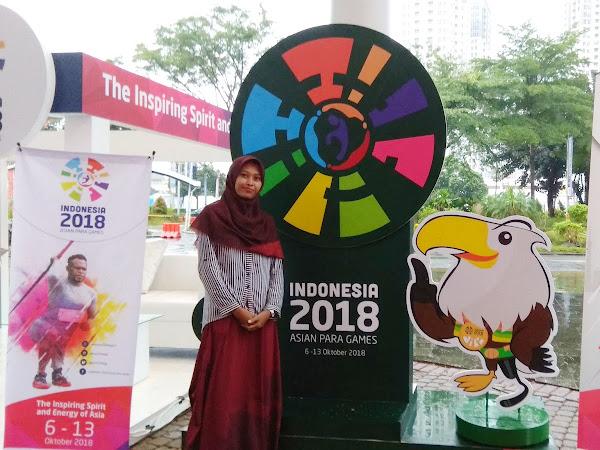 Dukung Asian Para Games 2018