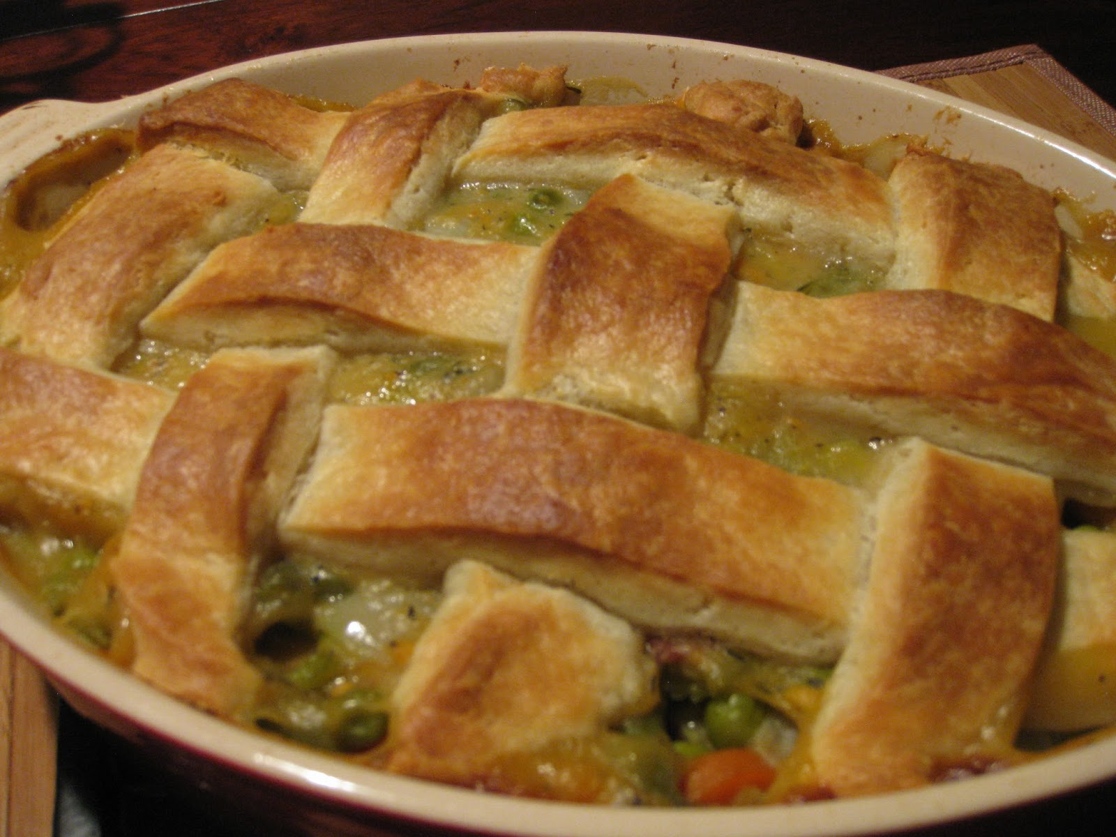 Beauties And The Feast Chicken Pot Pie