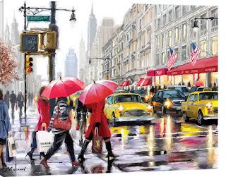 cuadros-de-vistas-urbanas-de-ciudades-pinturas panoramas-urbanos-ciudades