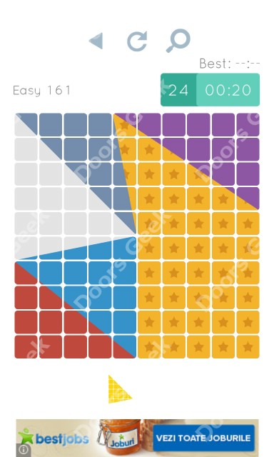 Cheats, Walkthrough for Blocks and Shapes Level 161