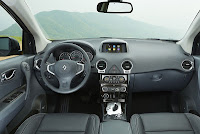 New Renault Koleos dash