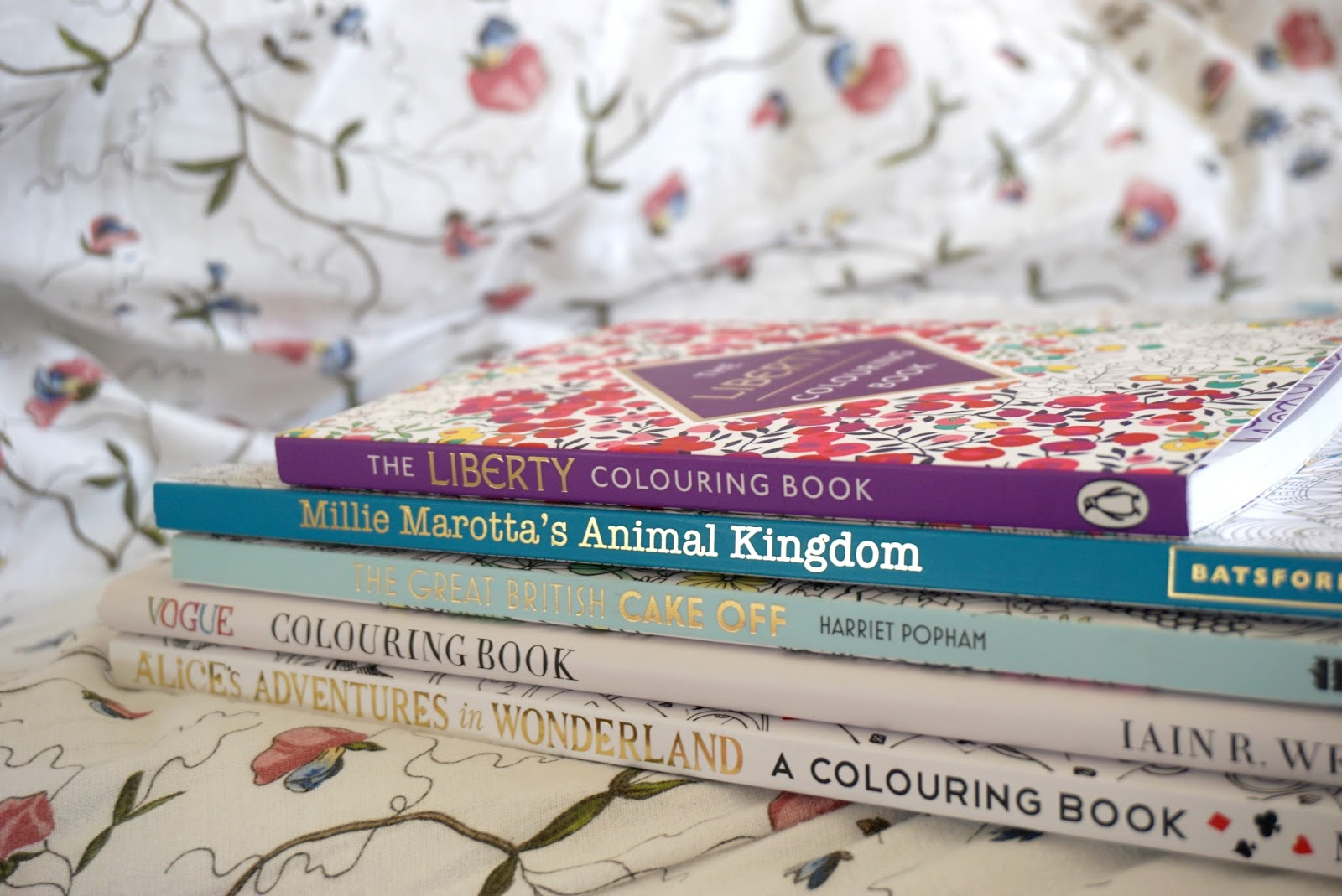 The 5th Instalment Of Five Books In Words And I Thought It Would Be Nice To Round Up On Some Adult Colouring That Ive Bought Recently