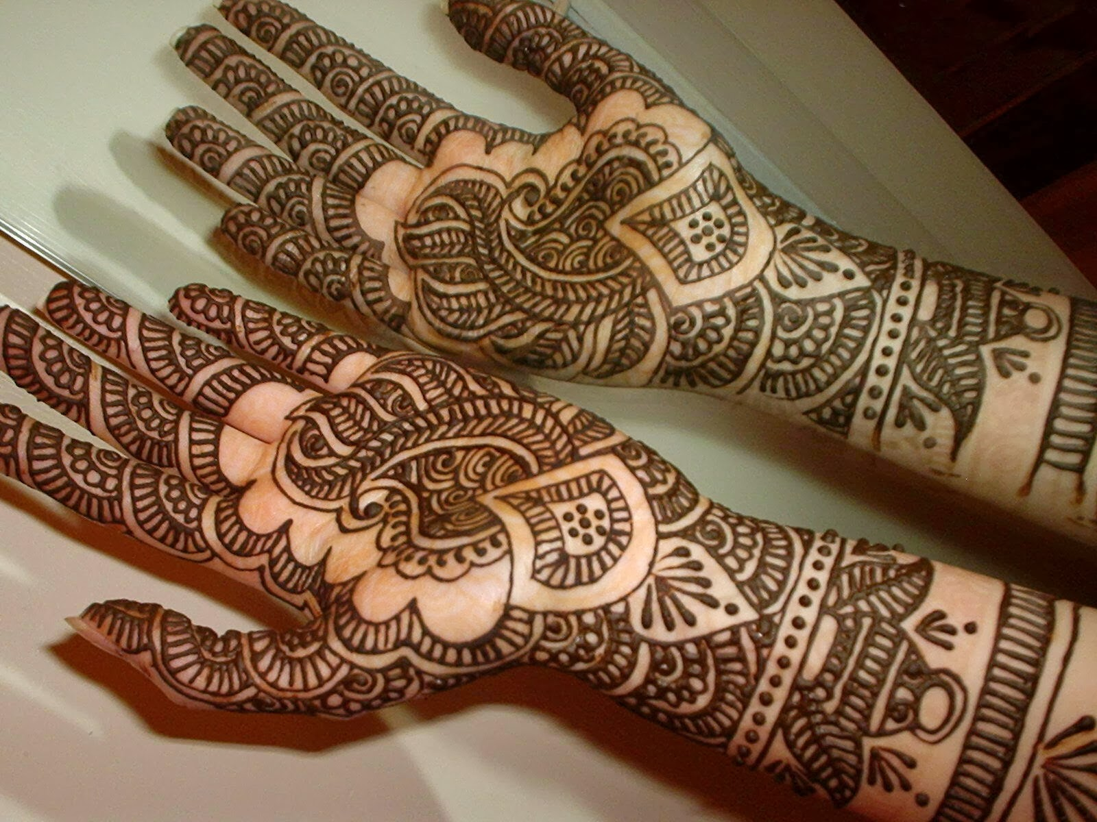 Beautiful Henna Designs: Beautiful Latest Simple Arabic Pakistani Indian Bridal