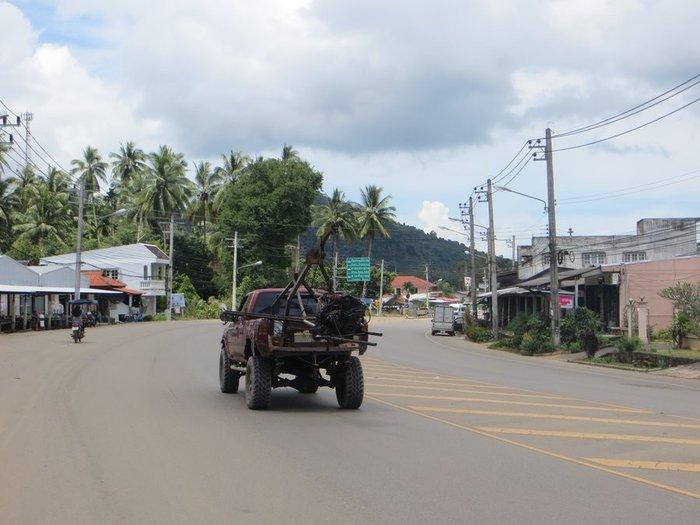 Перевозка двигателя в Таиланде