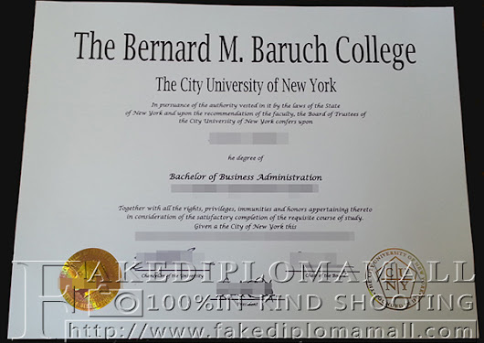 Bernard M.Baruch College degree from the City University of New York