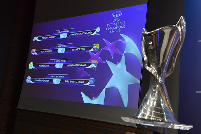 Women's Champions League: quartas de final definidas