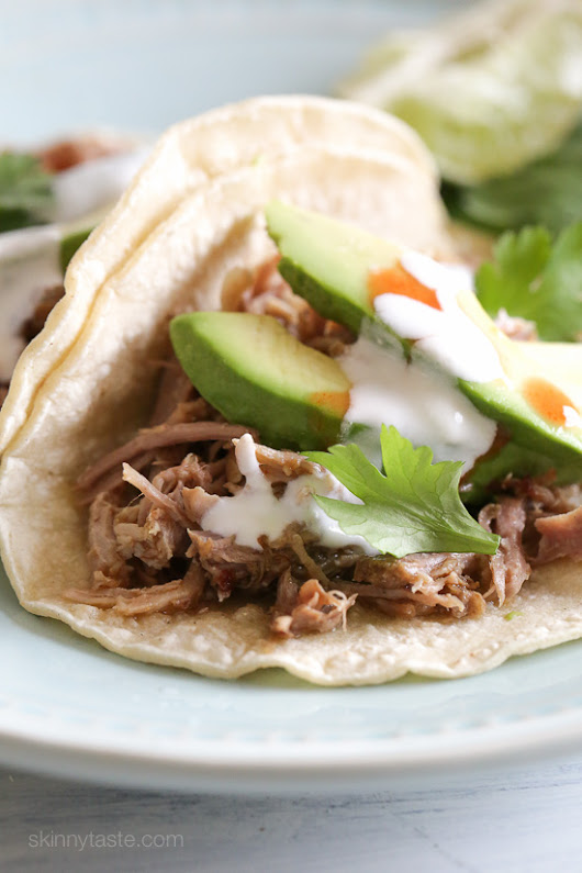 Instant Pot Pork Carnitas (Mexican Pulled Pork)         |          Skinnytaste