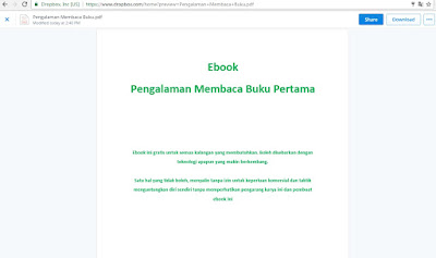 Download Ebook Pengalaman Membaca Buku