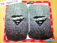Stiker, skotlet atau garskin skin hp Blackberry (BB) apollo Suparman