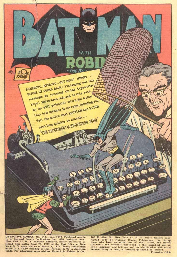Detective Comics (1937) 148 Page 2