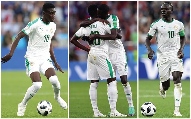 c46b84ddf4fb Football teams shirt and kits fan: Senegal WC 2018 Home Kits