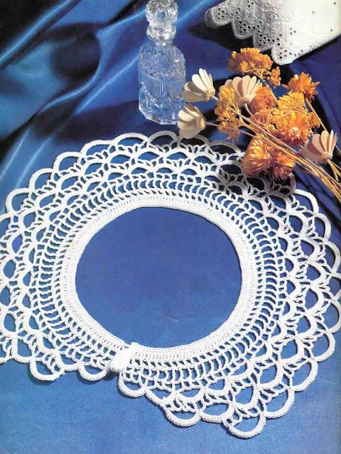 журнал Magic crochet № 67 воротник крючком