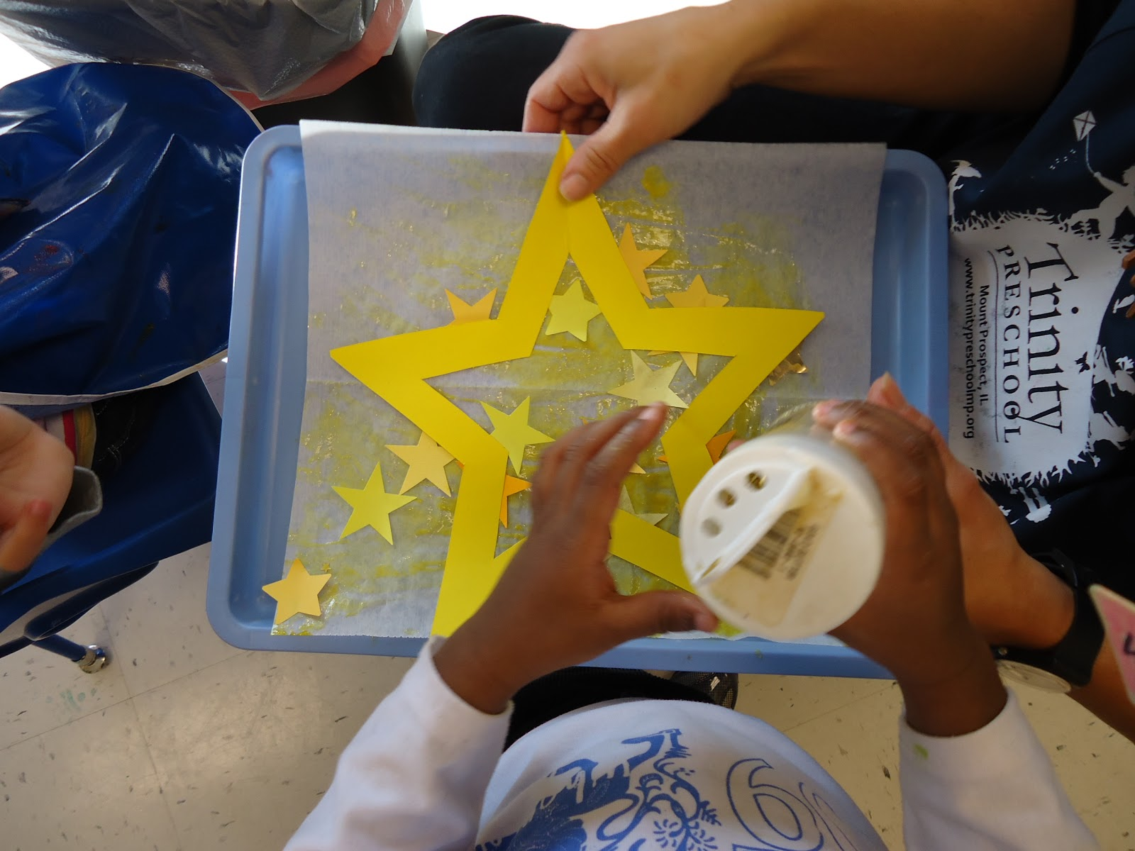 Trinity Preschool Mount Prospect: Star Art For Twinkle