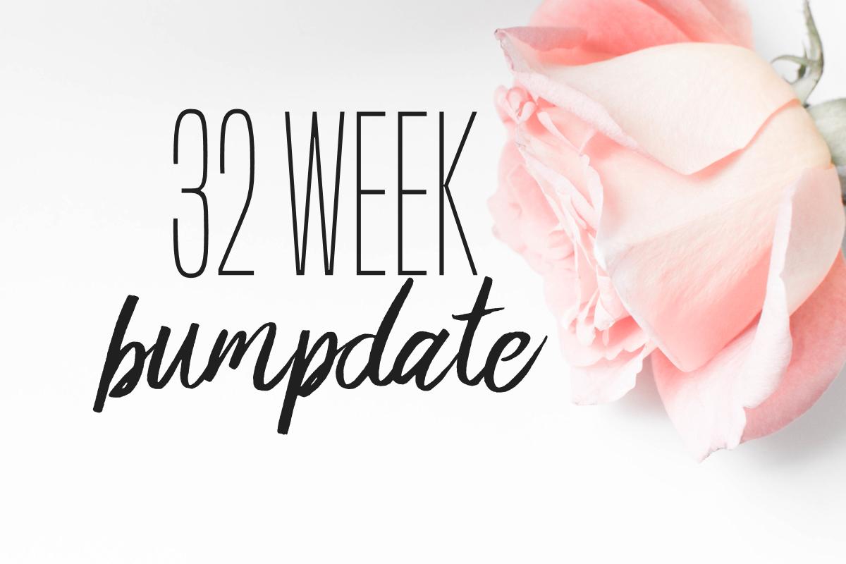 32 weeks pregnant bumpdate