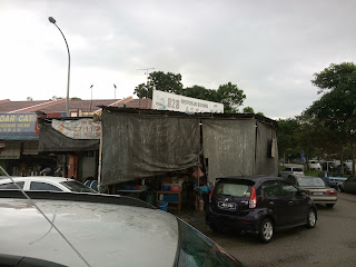 The signboard is a little too high, hard to see. Restoran 828 Soon Ki