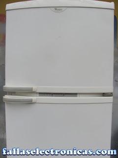 refrigerador whirlpool electronica no enciende
