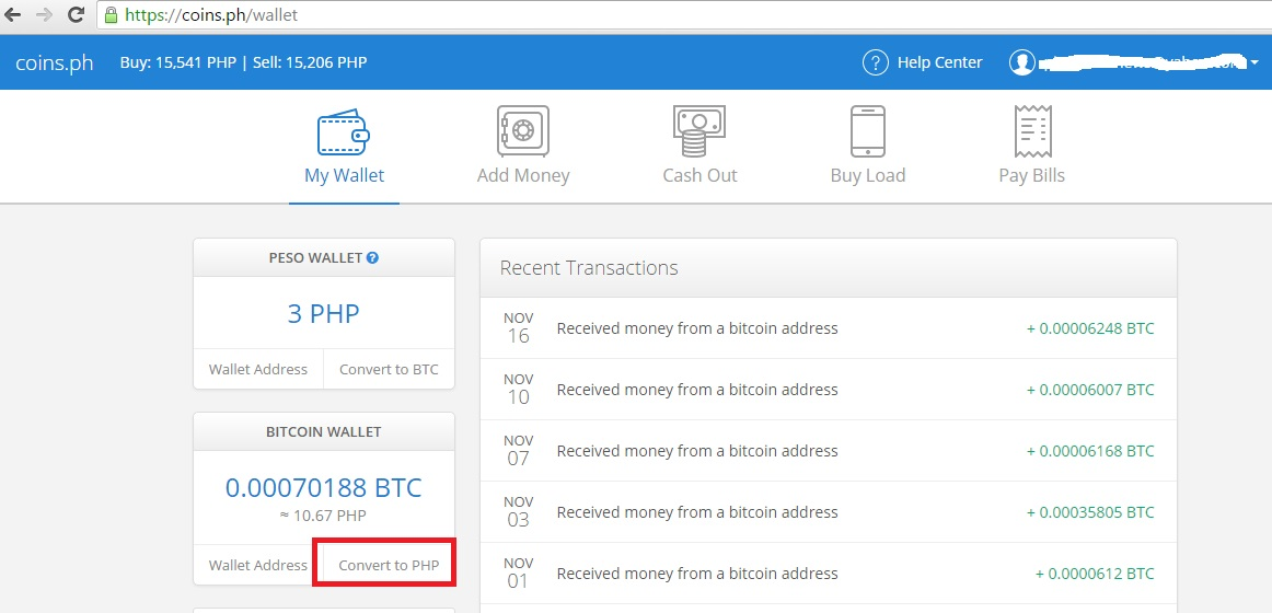 If You Are Using Another Bitcoin Wallet Can Send Those Bitcoins To Your Coins Ph Then Convert It Pesos