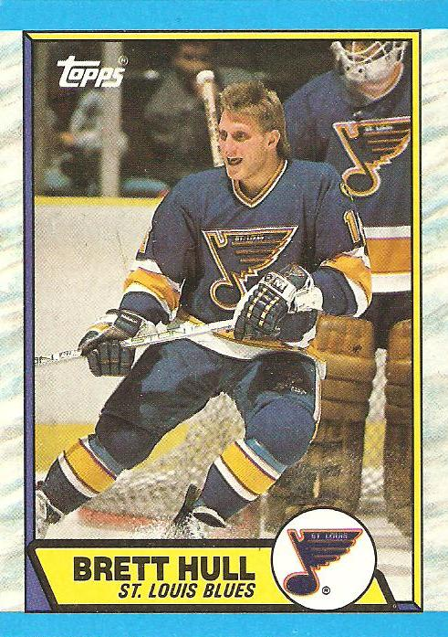 Shoebox Legends Signature Sundays Brett Hull