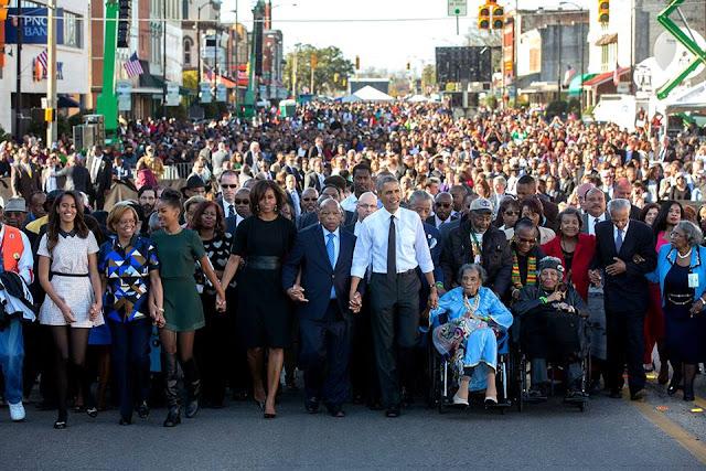 President Barack Obama encourages Americans